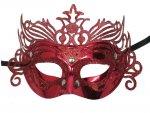 KIK Karnevalová maska colour
