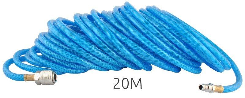 Malatec  20 m, 6/11 mm tlaková hadice osazená