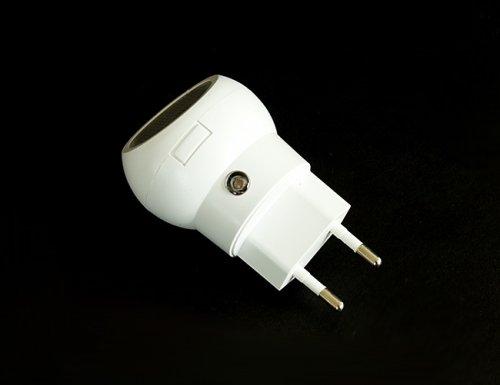 APT LED noční světlo 230V, 1W LED s automatickým zapínáním