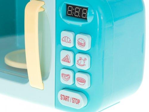 KIK KX6023 Dětská mikrovlnná trouba modrá