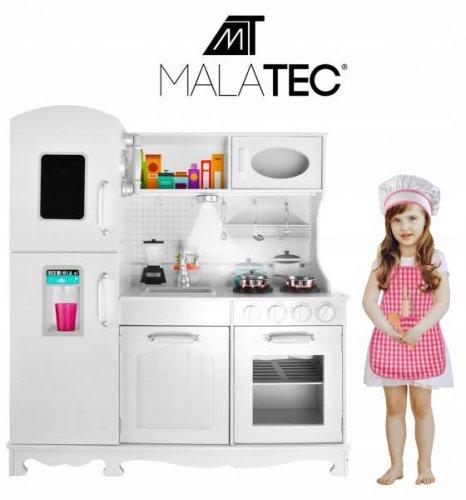 Malatec XXL Dětská dřevěná kuchyňka KD4582 bílá bazar