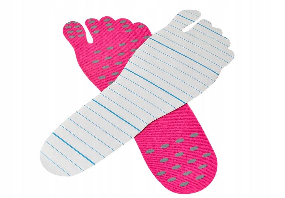 Nakefit 5858 Samolepící ochrana chodidla M růžová