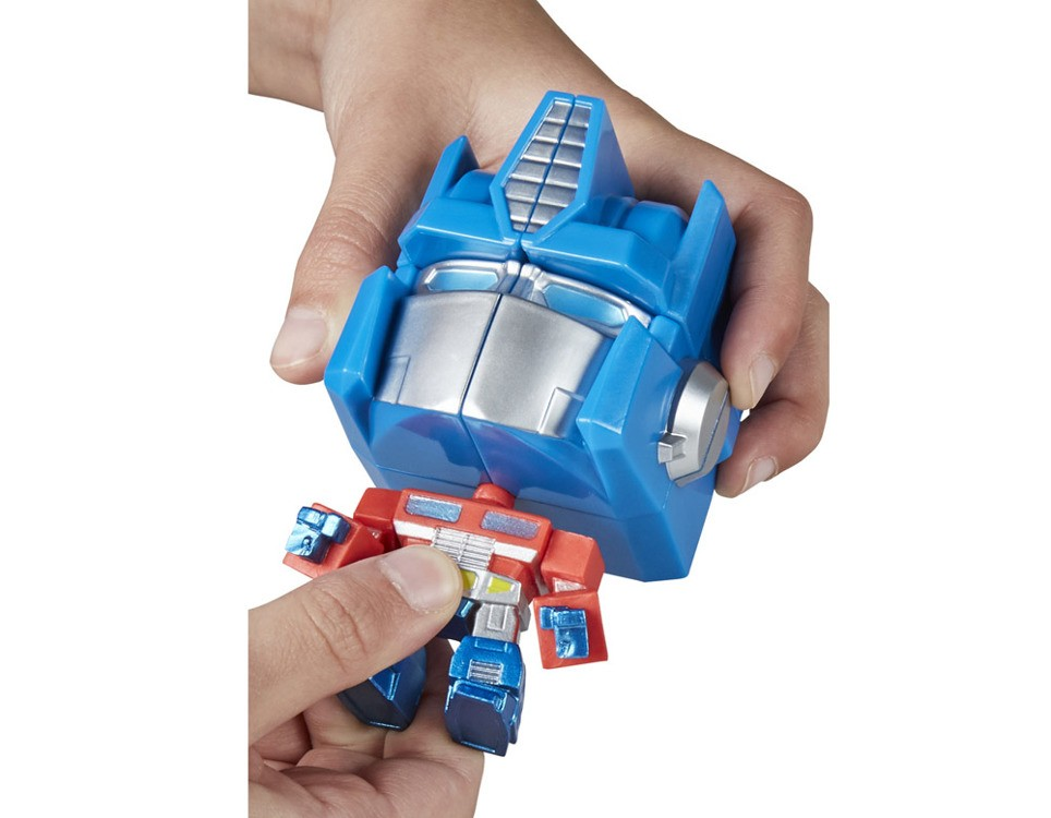Hasbro Transformers Fidget Its Cube Optimus Prime