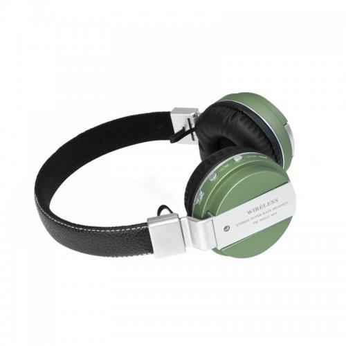 GT K432D2 Bluetooth sluchátka zelená DELUXE