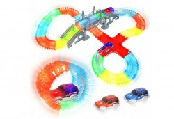 ISO 9416 Magic Glow Tracks Svítící autodráha 480 dílů