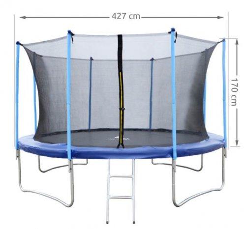Malatec Vnitřní ochranná síť pro trampolínu 427 cm